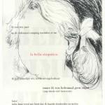 La bella simpatica (drogenaald ets, print, 20x30, 2009)