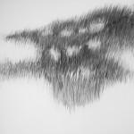 Shadowland (2) (houtskool op papier, 100x70 cm, 2013)