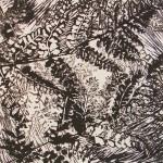 Varens (4) (linoleumsnede,  15x15 cm, 2010)