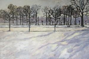 Winter (acrylverf op linnen, 160x120 cm, 20013)