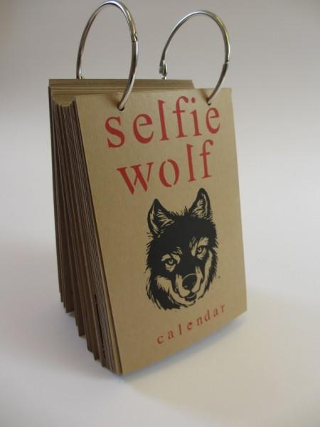 Selfie Wolf Calendar (Marijke van Dijk)